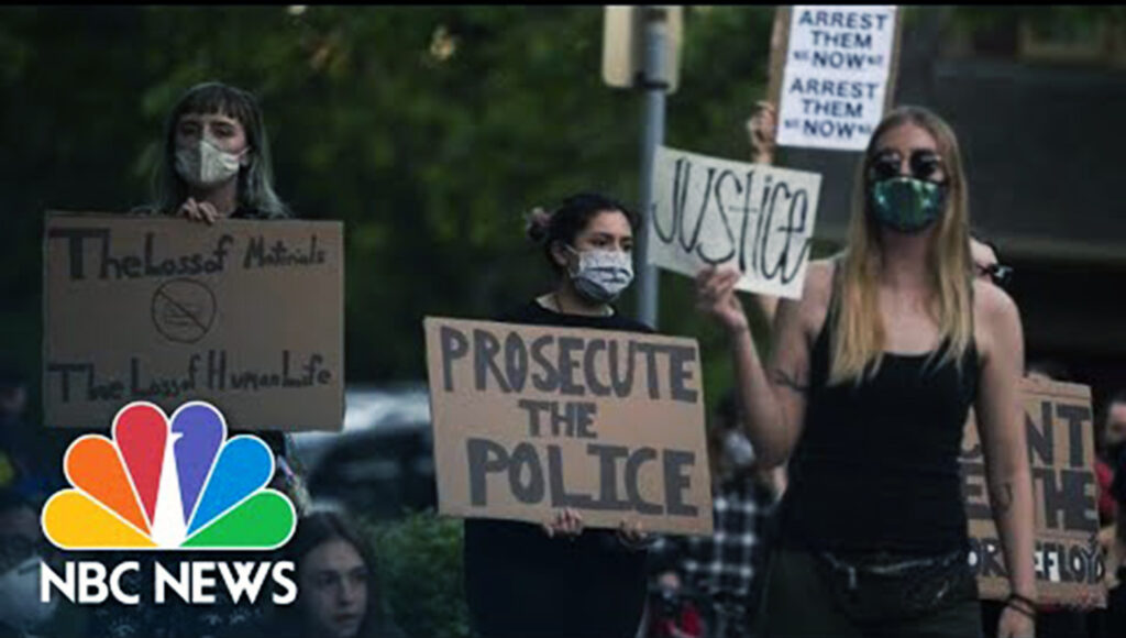 Protesti u SAd/Photo: YiuTube printscreen