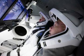 Space X astronauts/Photo: printscreen