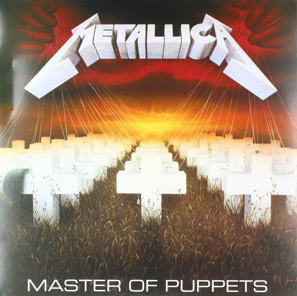 Master of Puppets. cover