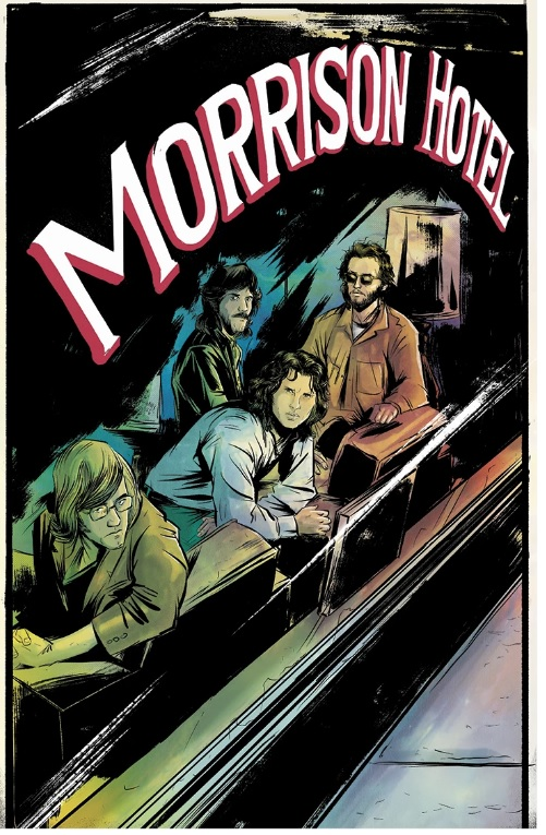 The Morrison Hotel, cover