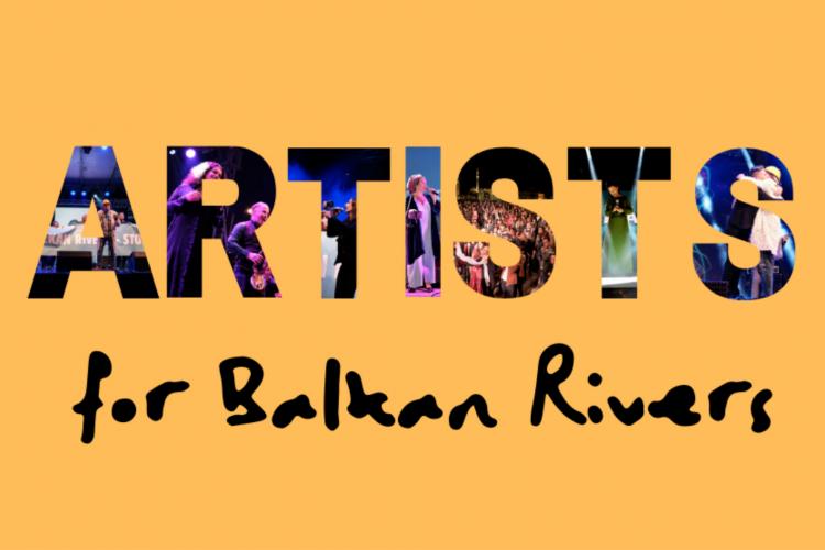 Artist For Balkan Rivers