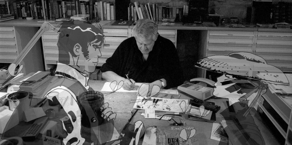 Hugo Prat/Photo: facebook@Hugo Pratt & Corto Maltese