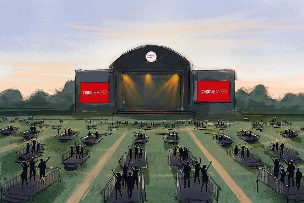 The Virgin Money Unity Arena, render