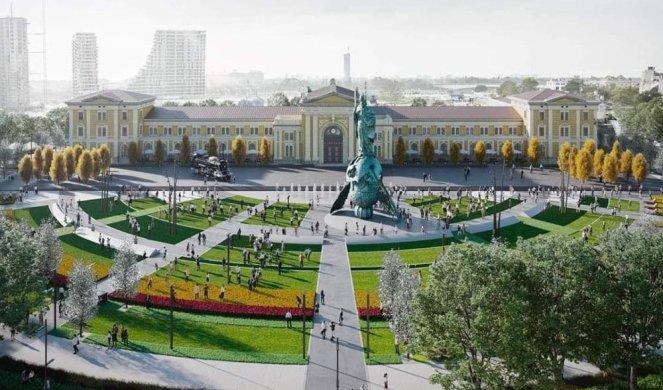 Spomenik Stefanu Nemanji/render
