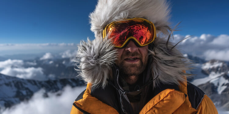 Renan Ozturk during expedition to climb Mt. Everest in search of Sandy Irvine's remains. (National Geographic/Matt Irving)