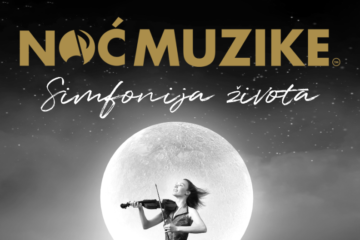 Noć muzike, promo