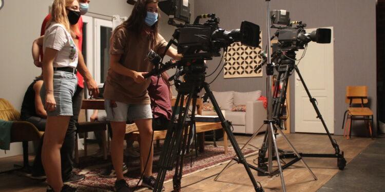 Ćerka za priner,ekipa u studiju/Photo: promo