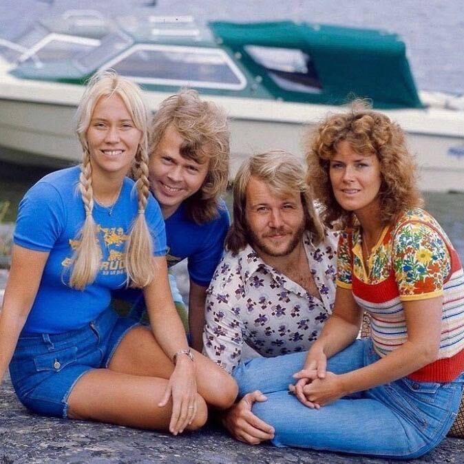 ABBA/Photo; facebook@ABBA