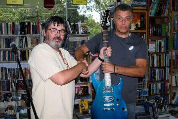 Saša Radonjić. i Đule Van Gogh/Photo: facebook@musicvangogh/Privatna arhiva Saše Radpnjića