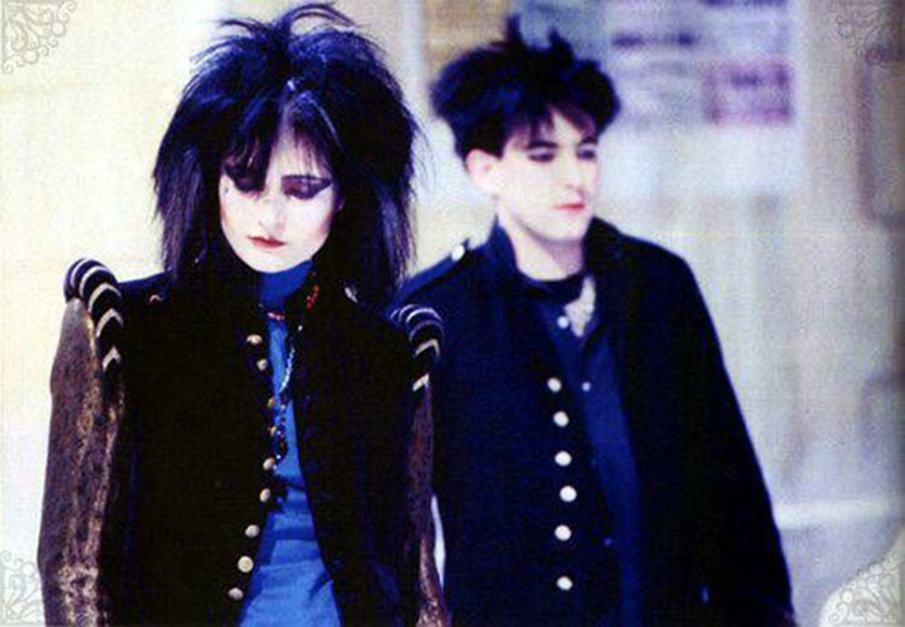 Siouxsie and The Banshees i Robert Smit/Photo: pinterest.com@Charlie