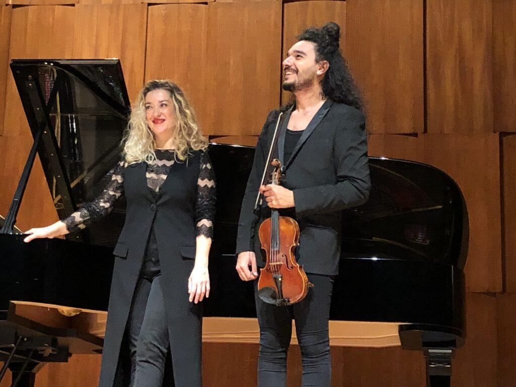Nemanja Radulović i Lor Favr Kan/ Photo: Promo (Kolarčeva zadužbina)