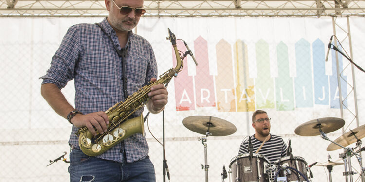 Kochetov Quintet (Art Avlija 2020)/ Photo: AleX