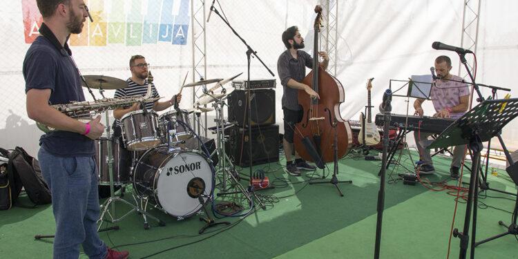 Dragan Ćalina Quartet (Art Avlija 2020)/ Photo: AleX