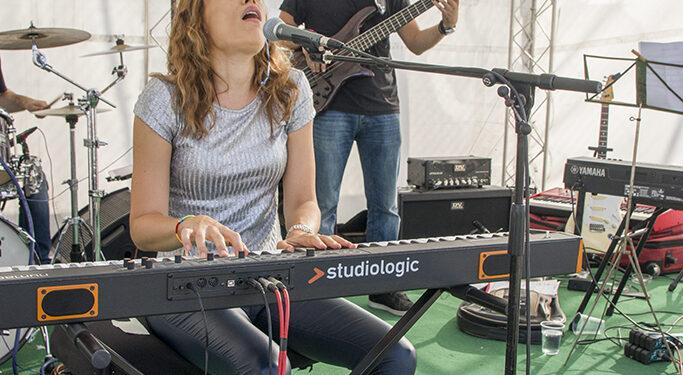 Iva Ikon & band (Art Avlija 2020)/ Photo: AleX