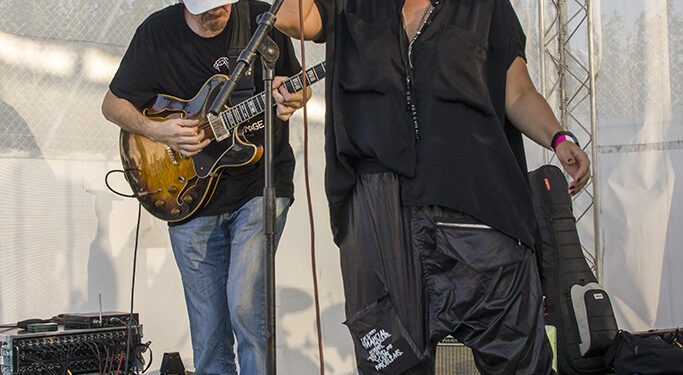 Di Luna Blues Band & Nataša Guberinić (Art Avlija 2020)/ Photo: AleX