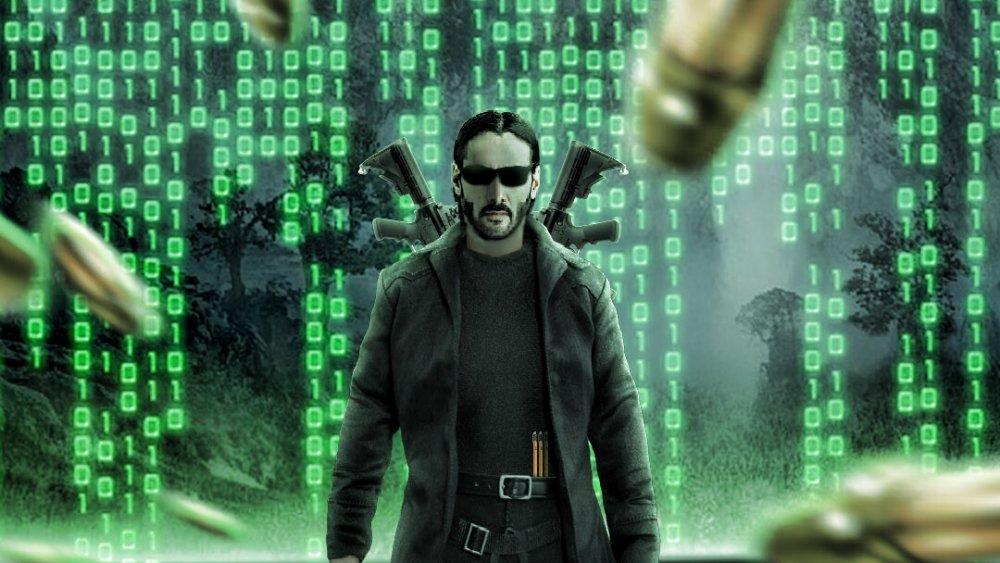 Matrix 4 intro/printscreen