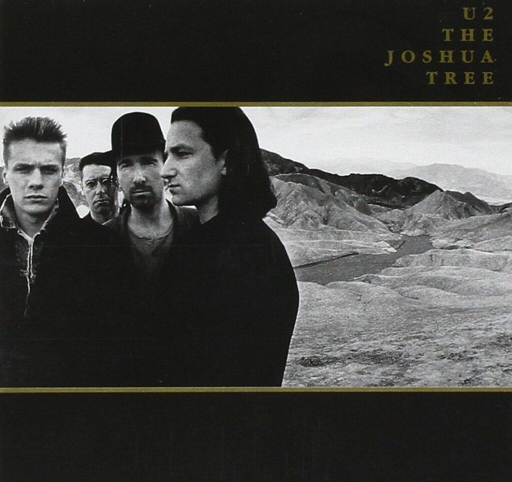 U2 - 'The Joshua Tree', cover