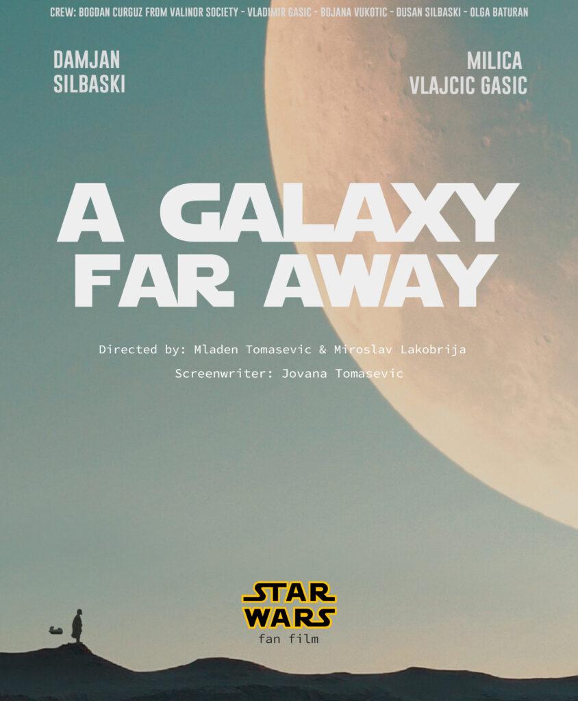 A Galaxy Far Away Poster