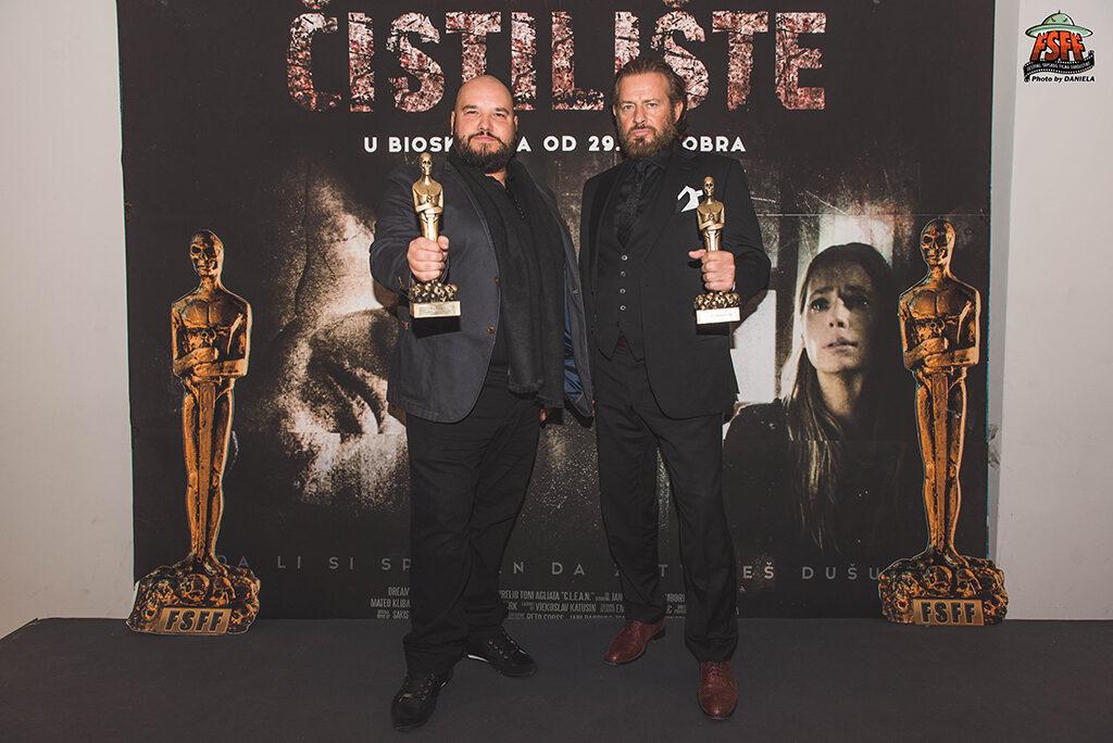 Vjekoslav Katušin i Kostas Mendilor/ Photo: Danijela Radojković (FSFF, promo)