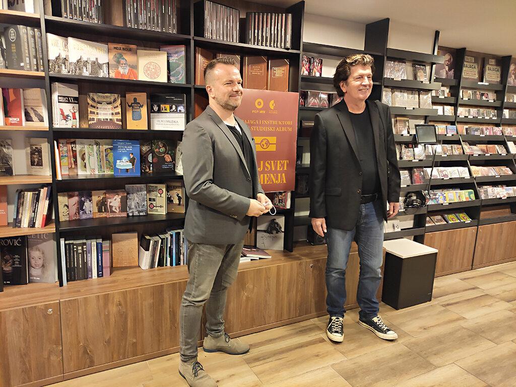 Vlada Graić i Bajaga/Photo: Headliner