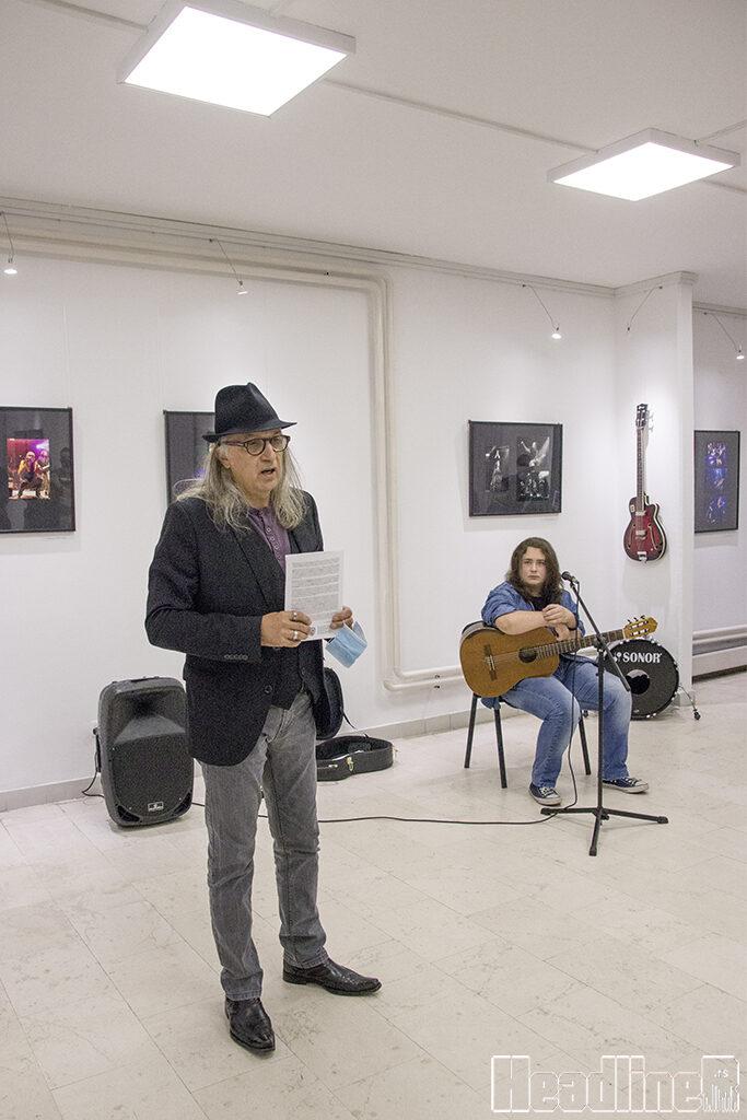 Ivan Matejić i Boris Strah (V Al Rock Fest)/ Photo: AleX