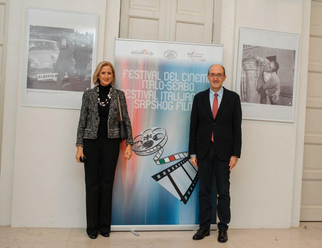 Ambasador Karlo Lo Kaso sa suprugom Alesandrom/ Photo: Irina Duplevskaja