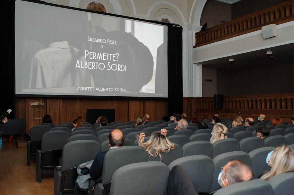 Festival italijansko-srpskog filma/ Photo: Irina Duplevskaja