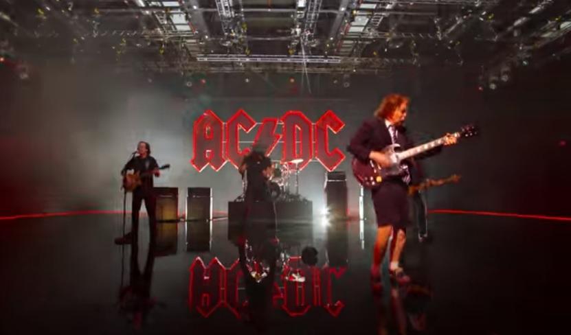 AC/DV/Photo: YouTube printscreen