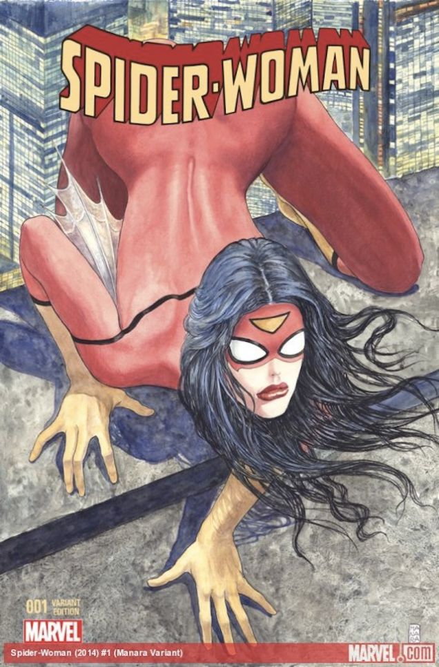 Spider-womman/Photo: Heritage Auctions/Marvel comics