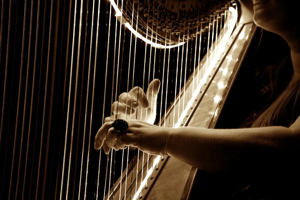 Harfa/ Photo: pixabay.com