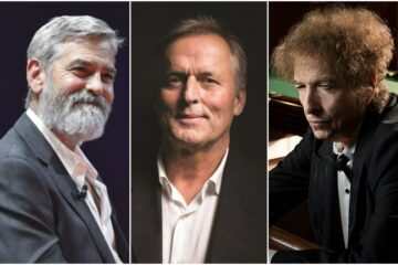 Džordž Kluni, Džon Grišam, Bob Dilan/Photo: facebook