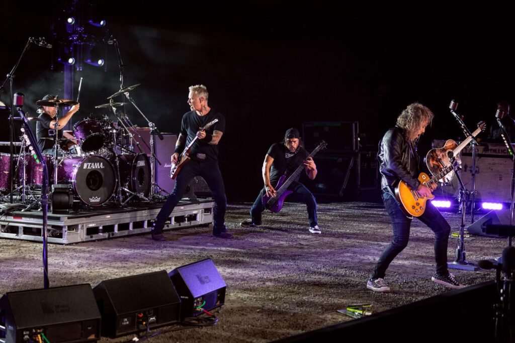 Metallica/Photo:facebook@metallica