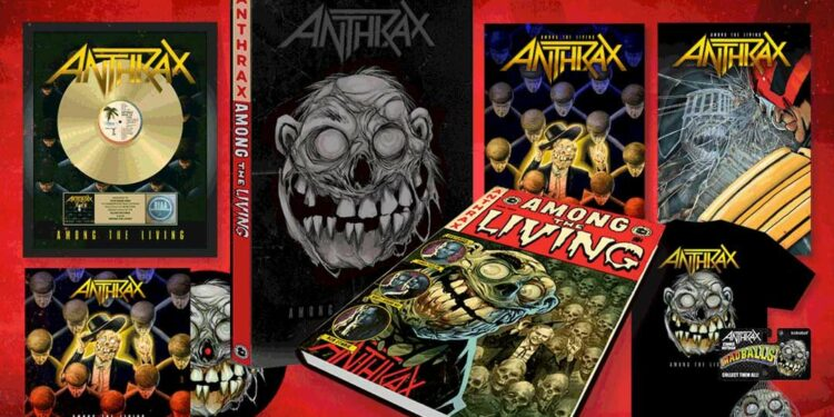 Anthrax, Among The Living/Promo