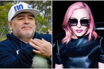 Maradona, Madona/Photo: facebook