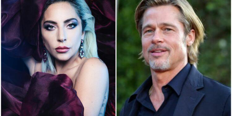 Lejdi Gaga, Bred Pit/Photo: facbeook