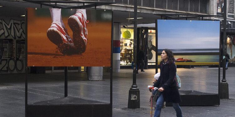 Izložba fotografije Srđana Sulejmanovića  u Knez Mihailovoj/Photo: AleX