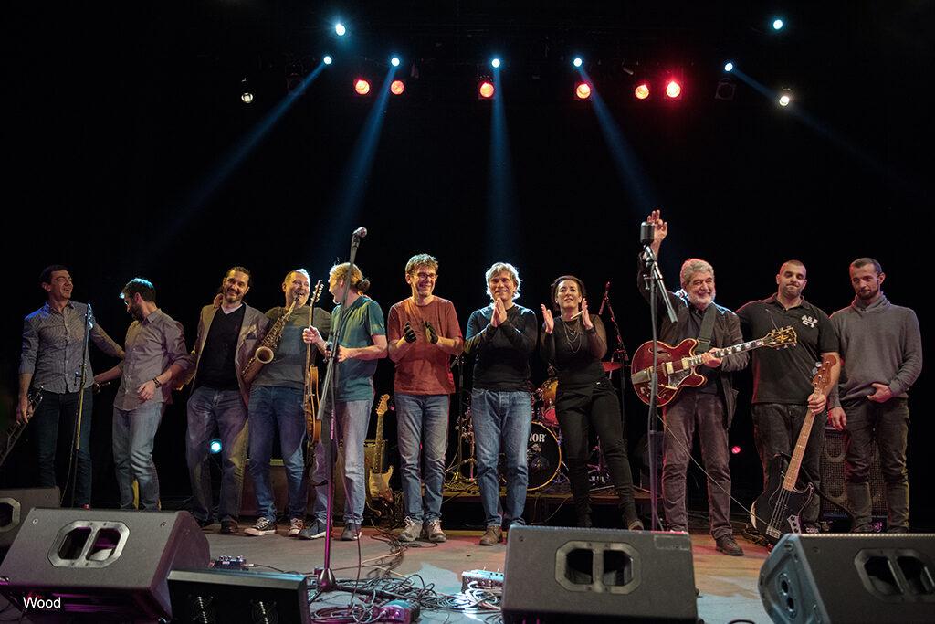 Di Luna All Stars Blues Band (Dom omladine Beograda)/ Photo: Wood RS