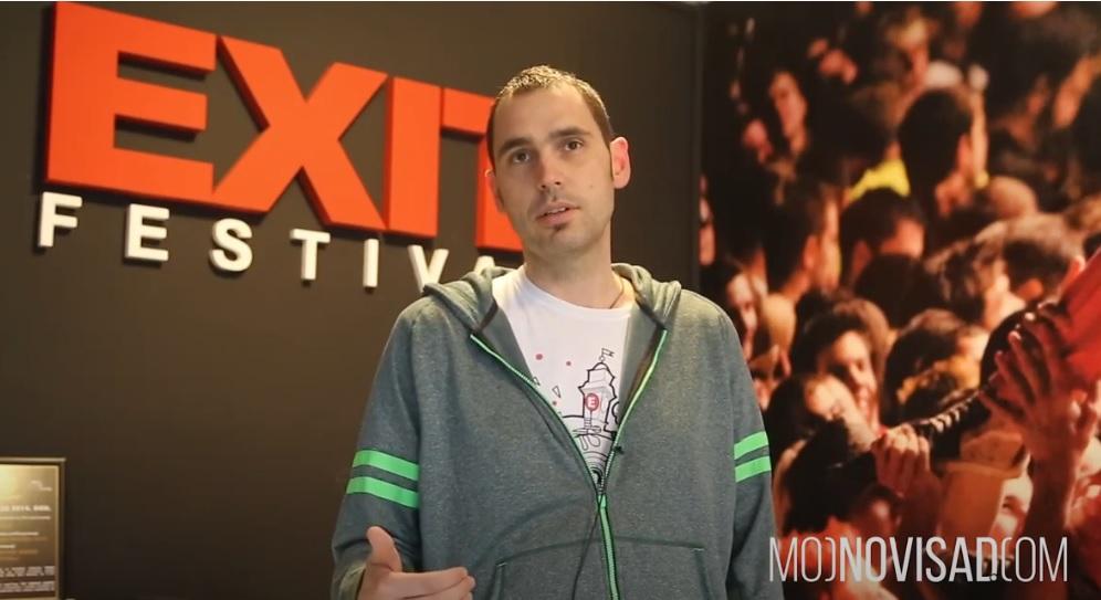 Dušan Kovačević, Exit/Photo: printscreen YouTube www.mojnovisad.com