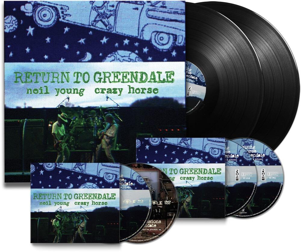 Return to Greendale, cover