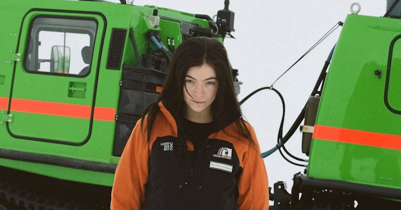 Lorde/Photo: facebook@Lorde