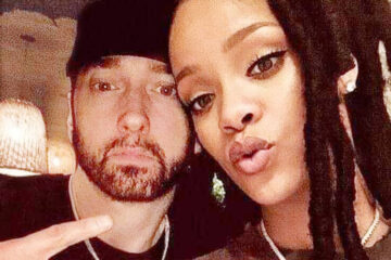 Eminem, Rijana/Photo: instagram