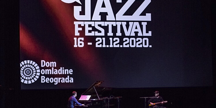 Matija Dedić i Vlatko Stefanovski (Beogradski jazz festival 2020)/ Photo: AleX
