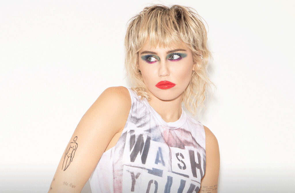 Majli Sajrus/Photo: facebook@MileyCyrus