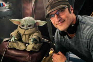 Robert Rodrigez, Baby Yoda/instagram printsceren