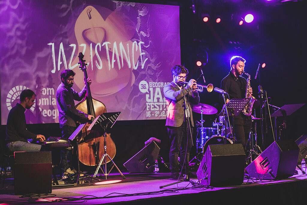 Ivan Radivojevic kvartet (Beogradski jazz festival 2020)/ Photo: Tanja Drobnjak
