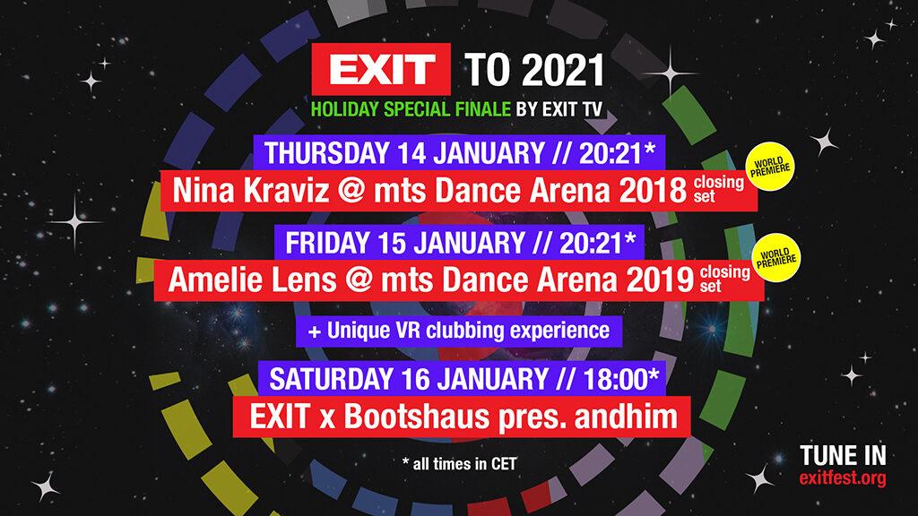 Exit to 2021/ Photo: Promo