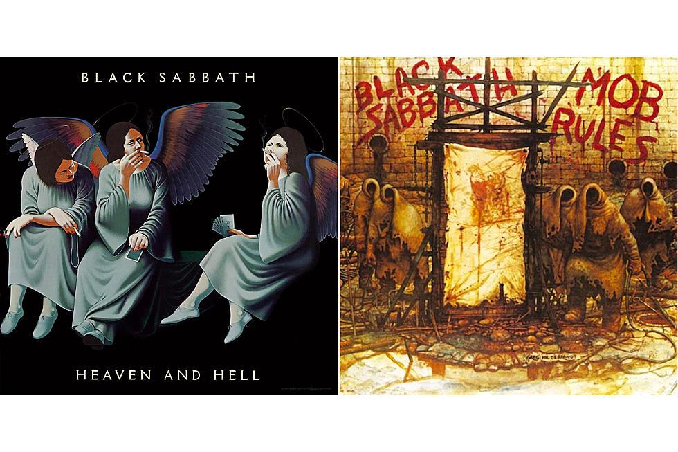"Black Sabbath  ""Heaven and Hell"" (1980) i ""Mob Rules"" (1981)."