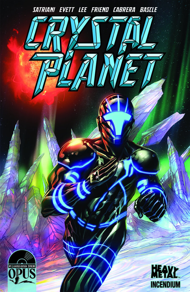 'Crystal Planet, cover