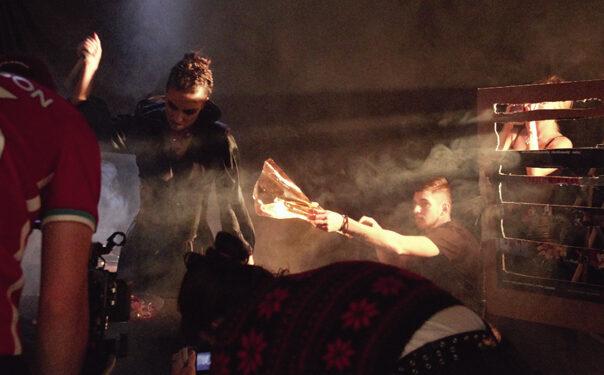 Snimanje spota 100 svetlosnih godina (Mimo Protokola)/ Photo: Promo