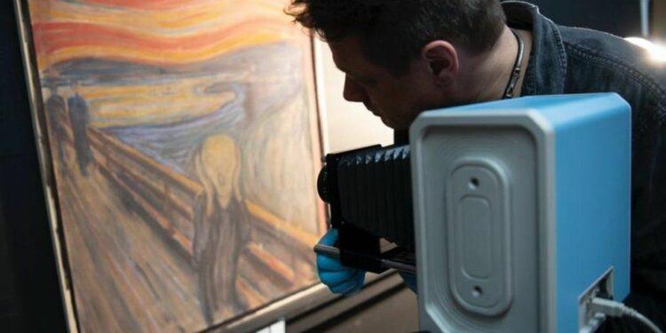Edvard Munk, The Scream/Photo: NATIONAL MUSEUM OF NORWAY